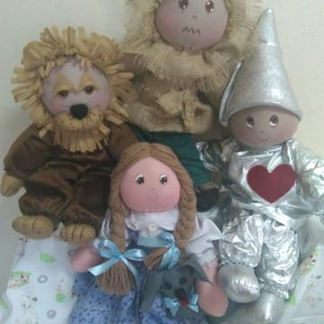 Bonecos Mágico de Oz