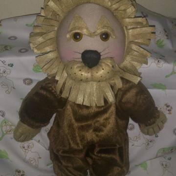 Boneco Leão Covarde