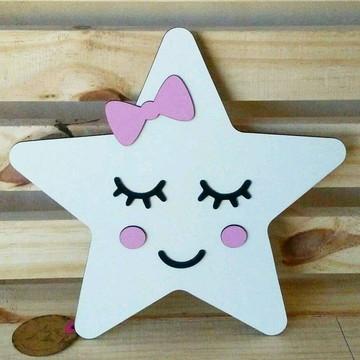 Luminária infantil estrela Amás