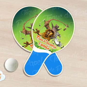 Raquete de ping pong Madagascar