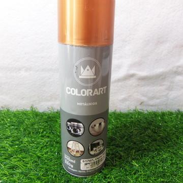 Spray Colorart Metálicos Ouro Rose
