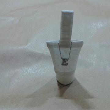 Porta Álcool Gel com pingente de alfabeto - 30 g