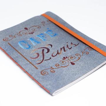 Caderno Café Paris
