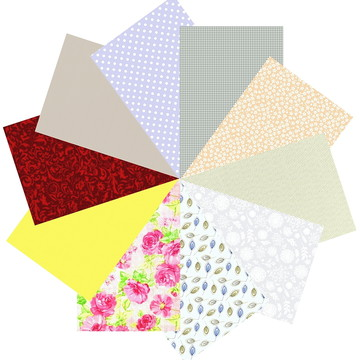 Kit Tecidos Patchwork Multicolor 24 Rosas #10 50cm x 70cm