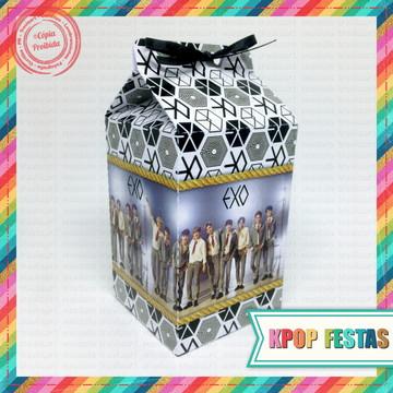 Caixa milk EXO