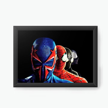 Quadro Decorativo Spiderman e Captain America Civil War 3089