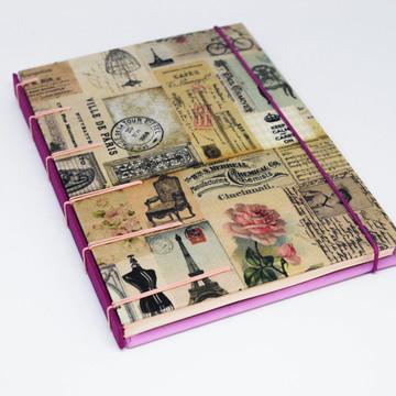 Caderno Viagem Paris
