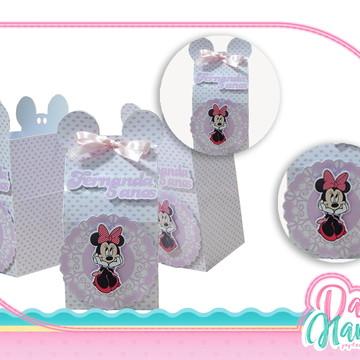 Caixa Milk - Minnie Rosa