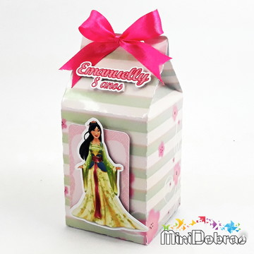 Caixa Milk Princesa Mulan