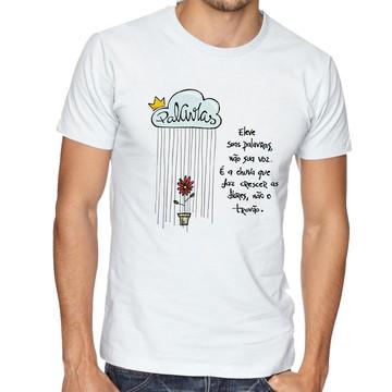 Camiseta Infantil Blusa Criança Eleve suas palavras Educação