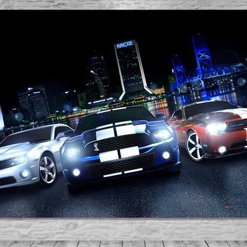 Painel Carros Importados de Luxo - Frete Grátis