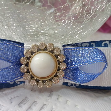 Laços para tiara, enfeite de cabelo e artesanato com 2 unid