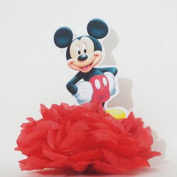 Centro De Mesa Display Enfeite Lembrancinha Mickey Mouse