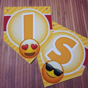 Bandeirola Emoji