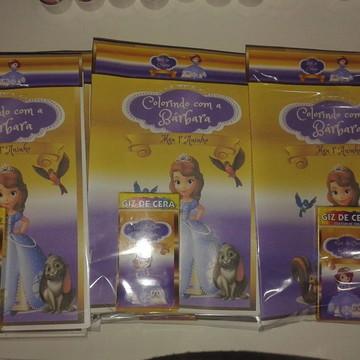 Kit de colorir Princesa Sofia