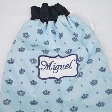 Saquinho de Roupa Suja Personalizado com Nome