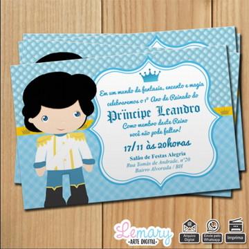 Convite digital Príncipe Mod.002