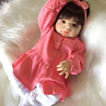 Boneca Bebe Reborn Silicone Lia