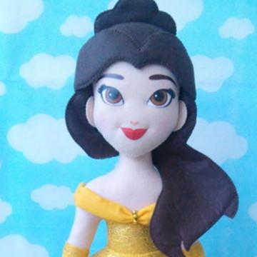 Princesa Bela de feltro