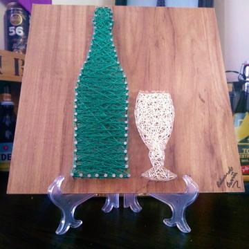Quadro Bebidas Beer String Art