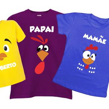 Camisa Personalizada Família