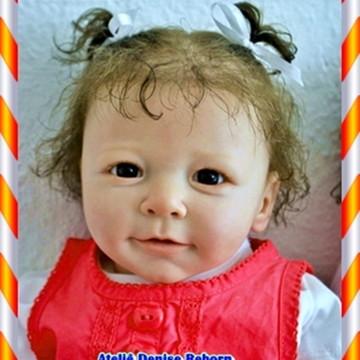 Boneca Bebê Reborn Bruna ou Bruno parece um bebe de verdade