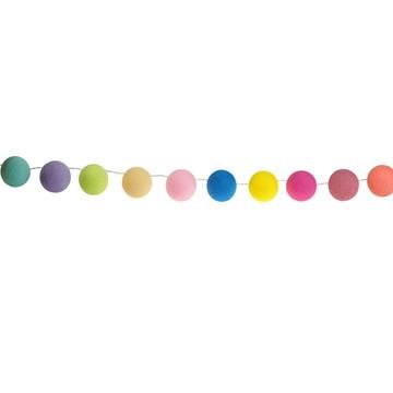Cordão de luz 35 bolas Candy