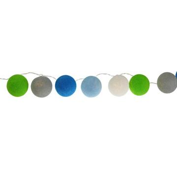Cordão de luz 35 bolas Asteca