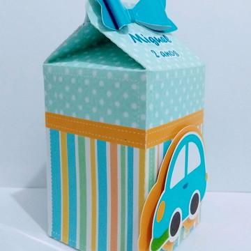 Caixa Milk Carrinho brinquedo 3D
