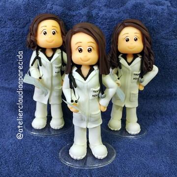 Boneca Profissão - Médica