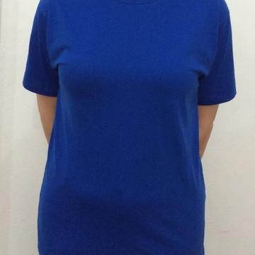9568063b3e Camiseta Básica Lisa Malha 100% Algodão 30.1 Cores Variadas