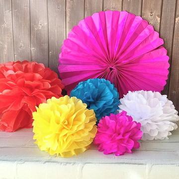 Pompons e Fioratas FESTA Colors