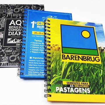 Caderno Personalizado Corporativo Grande Para Empresas