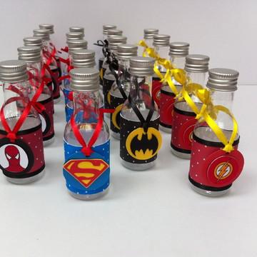 Garrafinha personalizada Super Heróis