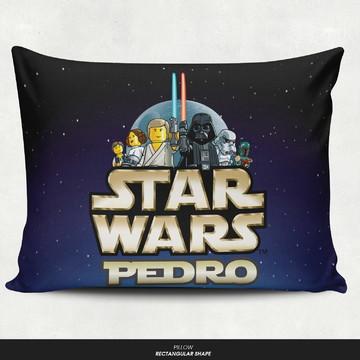 Almofada personalizada - Star wars lego com nome