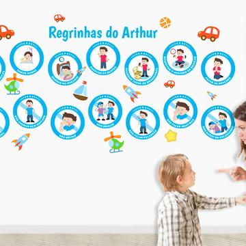 14 Adesivos Educativos Para Menino / Educação Infantil