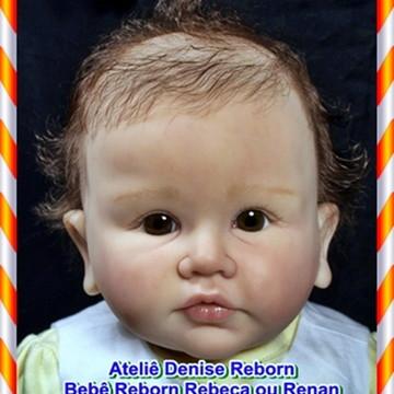 Boneca Bebê Reborn Rebeca ou Renan parece um bebe de verdade