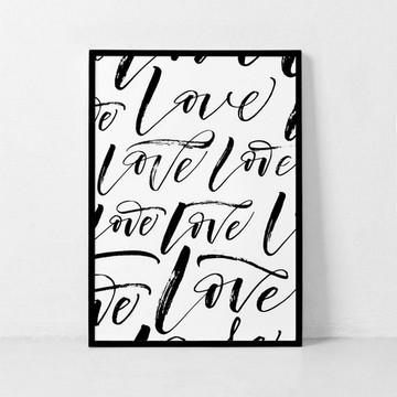 POSTER LOVE PARA IMPRIMIR