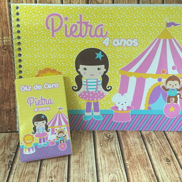 Kit Pintura Circo Menina