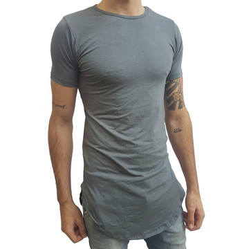 51a61143d5 Camiseta Long Masculina Oversized Swag Longline