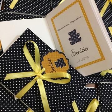 Lembrancinha Mini Caderno - kit 50