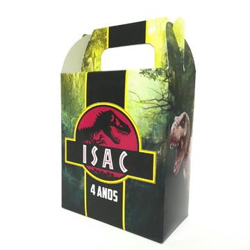 Caixinha Surpresa Personalizada - Dinossauros