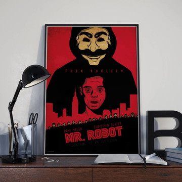 Pôster Mr. Robot
