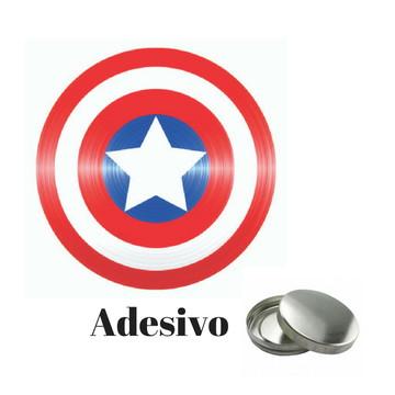 Adesivo para Latinha do Capitão America