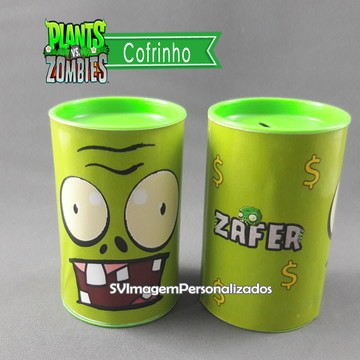 Cofrinho Plants vs Zombie