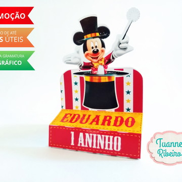 Porta Chocolate - Circo do Mickey