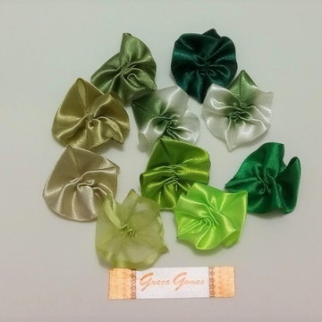 Folhas Franzidas - para aplique 10 uni