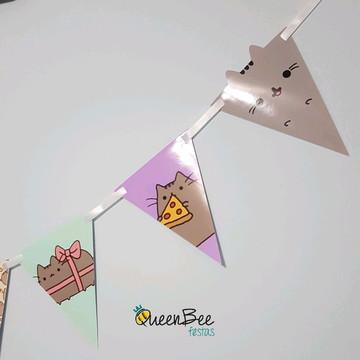 Bandeirola Cat Pusheen