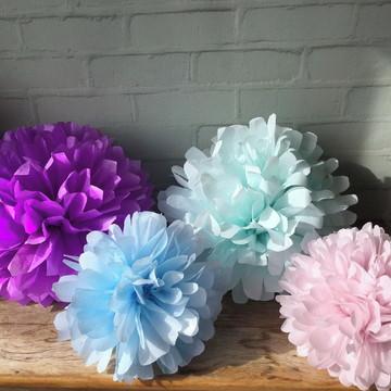 POMPONS Festa CORES Glam SOFT Colors
