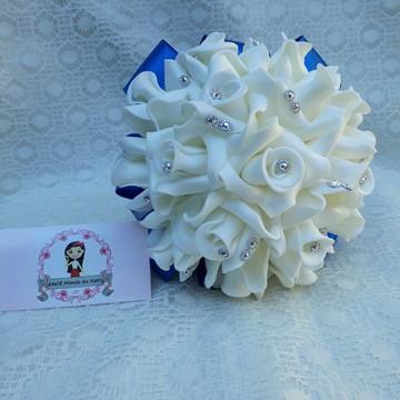 Buquê para Pré Wedding branco